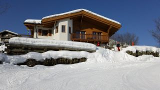 Chalet an der Piste ski-in ski-out